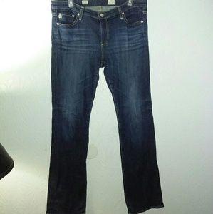 AG Jeans 32 Ballad Slim Boot Stretch 3 years wash